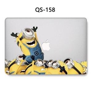 Image 4 - لأجهزة الكمبيوتر المحمول حالة للمحمول ماك بوك 13.3 15.4 بوصة ل كم ماك بوك اير برو الشبكية 11 12 مع واقي للشاشة لوحة المفاتيح كوف