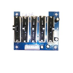 Image 5 - Dykb Stage Stereo Eq Equalizer Board 5/6/10/ 15 Band 2.0 Kanaals Voorversterker Tone Verstelbare Voorversterker voorpaneel Voor Versterker