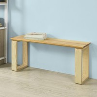 SoBuy FSR53 N, Solid Pine Wood Bench Shoe Bench Wooden Kitchen Dining Room Living Room Hallway Bench Seat