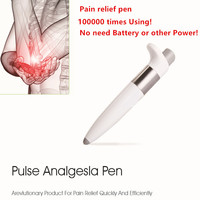 NEW Pulse Analgesla Pen Chinese Points Therapy Body Pain Relief Massager Neurologia Principle T0174SPD