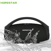 Hopestar H32 Outdoor Portable Bluetooth Speaker Wireless Waterproof Ipx6 Mini Speakers Big Power 10W Column Boombox With Handl
