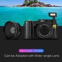CDRW wifi цифровая камера 1080 P Full HD 34MP УФ фильтр 3,0 дюймов ЖК экран анти Шейк wifi камера видеокамера Видео Регистратор