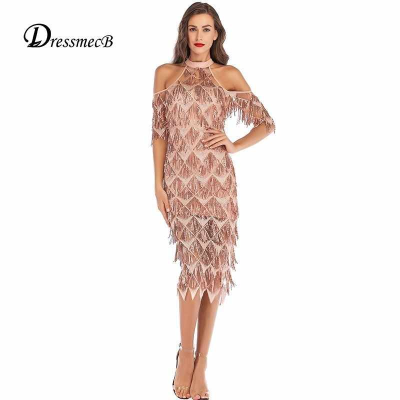 383e705b16433 Detail Feedback Questions about New Arrival Tassels Sequin Midi ...