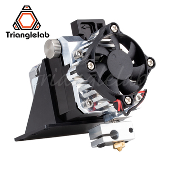 Trianglelab titan экструдер полный комплект Titan Aero V6 hotend экструдер полный комплект reprap mk8 i3 совместимый TEVO ANET I3 3d принтер