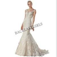 2019 wedding dress Sexy vestido de noiva sleeveless robe de mariee Mermaid sweetheart trouwjurk Trumpet beadding dress