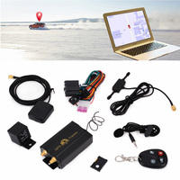 Mayitr 1set TK103B GPS/GSM/GPRS Real Time Vehicle Truck Drive Car Tracker Locator System + Remote Kit
