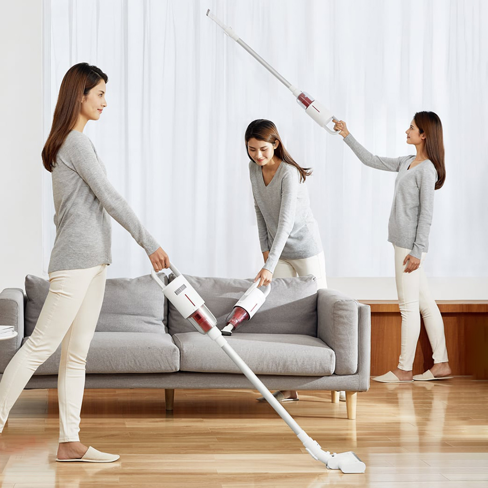 2020 New Deerma VC20 Vacuum Cleaner Auto-Vertical Handheld Cordless Stick Aspirator Vacuum Cleaners 5500Pa For Home Car