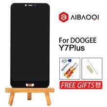 AiBaoQi חדש מקורי 6.18 אינץ מגע מסך + 2246x1080 LCD תצוגת עצרת החלפת Doogee Y7 בתוספת אנדרואיד 8.1 טלפון