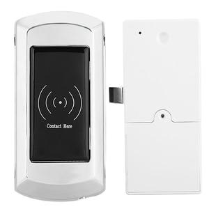 Image 2 - EM108 אבץ סגסוגת חכם אלקטרוני קבינט מנעול עם גישה כרטיס עבור סאונה/שחייה/מלון הלבשה