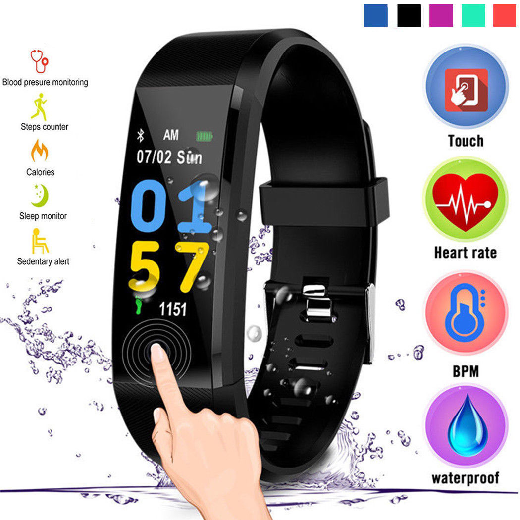 Watches Digital Watches Straightforward Binssaw Fashion Women Men Smart Watch Kid Heart Rate Monitor Blood Pressure Fitness Tracker Smartwatch Watches For Ios Android
