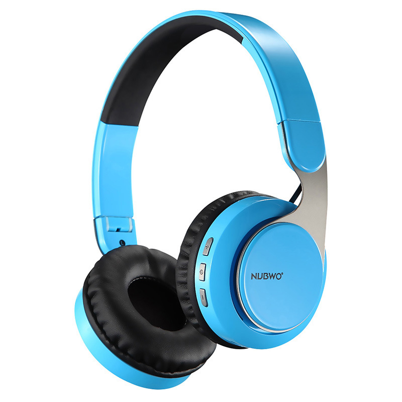NUBWO S8 Foldable Wireless Bluetooth Headset HIFI Casque Audio Stereo Music Subwoofer Gaming Headphone For Phone PC With MIC