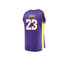 99e960602ca6 2019 All New Summer Hot Selling New  23 James Basketball Jerseys Stitched  White Breathable Sports