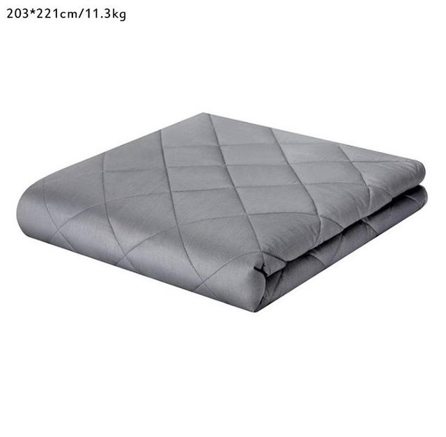 High Quality Cotton Gravity Blanket Weighted Blankets Glass Beads Environmentally Friendly Ventilation For Children Adults