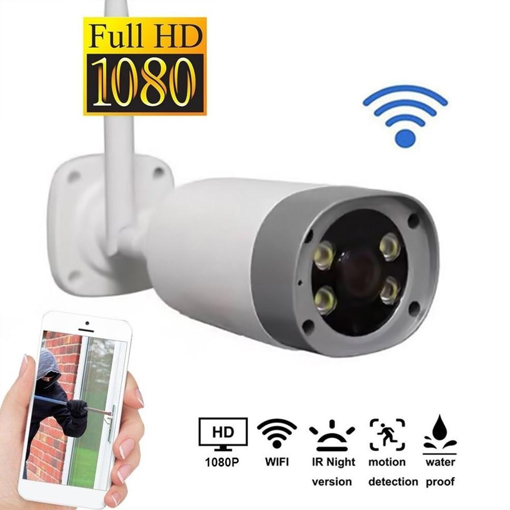 Wireless WiFi Security IP Camera Outdoor Bullet Family HD 1080P Monitoring Infrared Night Vision Two-Way Audio Wireless WiFi Security IP Camera Outdoor Bullet Family HD 1080P Monitoring Infrared Night Vision Two-Way Audio