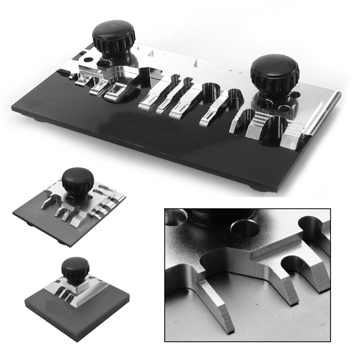 59mm/65mm140mm Hold & Fold Mini Model Photo Etch Bending Tool Bender Blade Set Parts Accessories