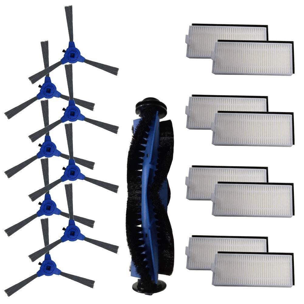 Набор аксессуаров для Eufy Robovac 11 S, Robovac 30, Robovac 30C, Robovac 15C, аксессуары для роботизированных фильтров пылесоса, боковые Bru