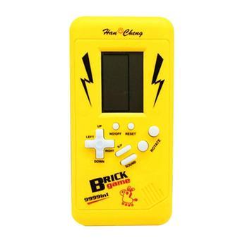 Al Azar Consola 3 Juguetes Lcd Juego Tetris Anos Baterias Aaa Juego