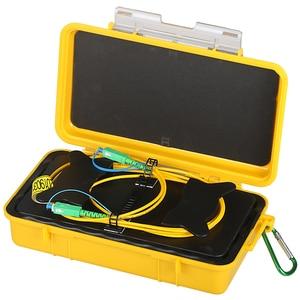 Image 1 - Free shipping SC/APC SC/APC OTDR Dead Zone Eliminator,Fiber Rings 500M Fiber Optic OTDR Launch Cable Box 1Km 2Km SM 1310/1550nm