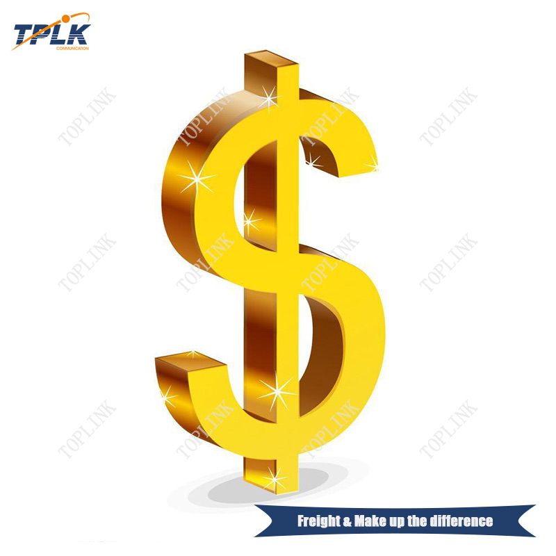 shipping cost and make the difference price OLT