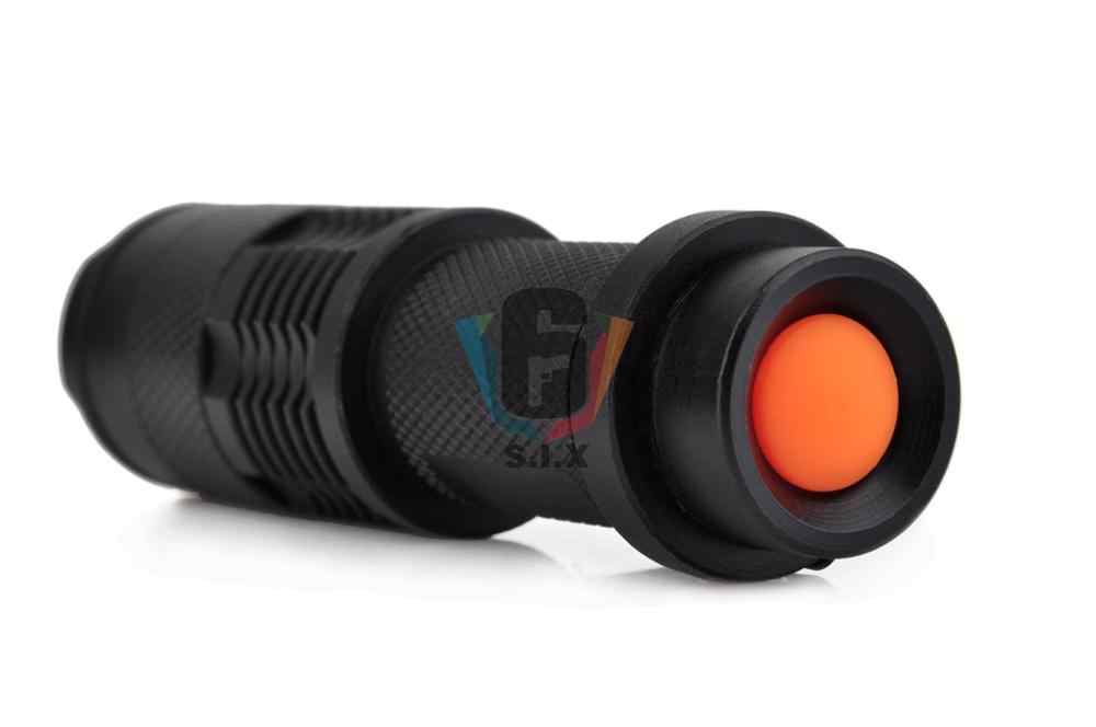 Element Tactical Helmet Light Mini Telescopic Zoom Flashlight Mount Single Clamp