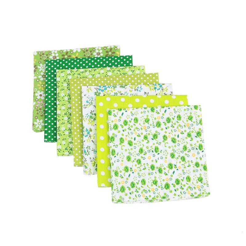 7 stücke Größe 25x25 cm Baumwolle Stoff Gedruckt Tuch Nähen Quilten Stoffe für Patchwork Hand DIY Handmade Material a40