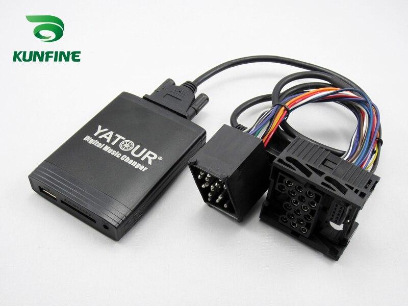 SITAILE Автомобильный MP3 плеер Bluetooth A2DP адаптер для Renault 8pin 12pin Clio Avantime Master Modus Scenic Traffic Interface - 4
