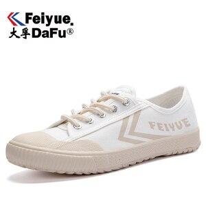 Image 2 - Dafufeiyue Canvas Schoenen Vintage Gevulkaniseerd Mannen En Vrouwen Mode Nieuwe Sneakers Comfortabele Antislip Duurzaam Schoenen 794