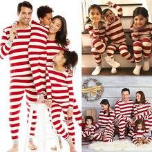 Рождественские одинаковые комплекты для семьи, Рождественский пижамный комплект для мамы, папы и детей, праздничная одежда для сна, Ночная одежда