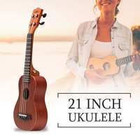 Zebra 21 Inch 4 Strings Concert Ukulele Ukelele Electric 15 Fret Acoustic Guitarra Bass Guitar For Musical Stringed Instruments