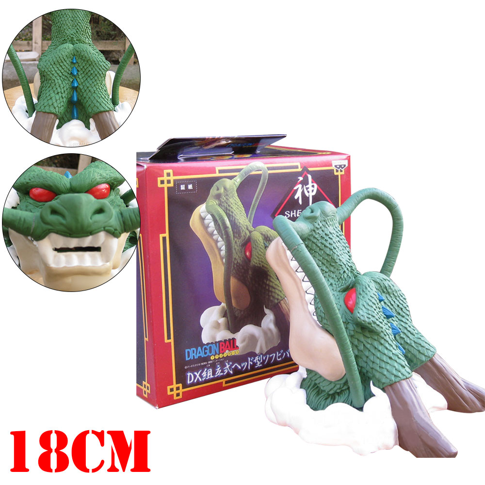 OHCOMICS Anime Dragon Ball Z Shenron Figurine Coin Box Bank Piggy Money Bank Kid Child Otaku Safe Money Bank Collectible Gifts