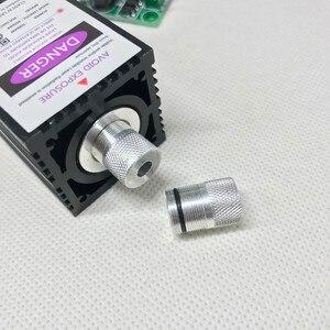 Image 3 - 12 v 500mw 405NM 青紫色レーザーモジュール彫刻、 ttl 制御レーザーチューブダイオードフォーカス + 調節可能なゴーグル