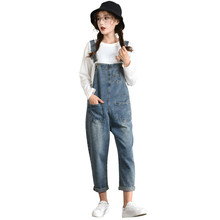 цена New Denim Jumpsuits Plus Size 6XL Spring Summer Women Fashion Overalls Jumpsuits Casual Washed Jeans Rompers в интернет-магазинах