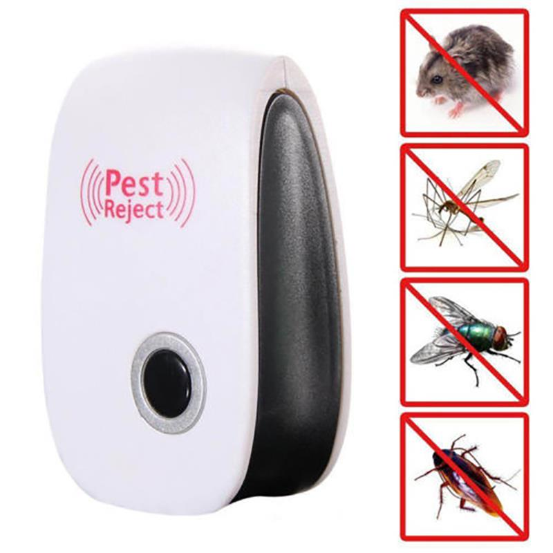 New Electronic Ultrasonic Anti Mosquito Insect Pest Mouse Repellent Repeller EU /US Plug
