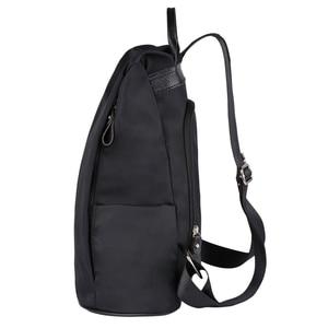 Image 3 - Coofit 디자이너 여자 브랜드 배낭 패션 나일론 방수 안티 절도 여자 가방 mochila escolar 학교 배낭