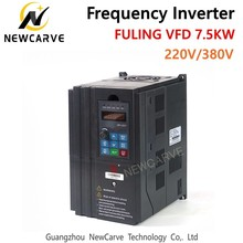FULING 7.5KW VFD Frequency Converter Inverter for 6KW 220V 380V CNC ATC Spindle Motor NEWCARVE