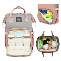 Lequeen Baby Bags For Mom Diaper Bag Backpack Maternity Stroller Mommy Bag Nappy Baby Care Changing Newborn Bag For Newborns
