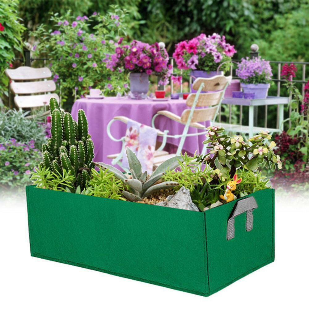 Storage-Box Flower Cultivation Square Super Planting-Bag Strawberry Convenient High-Quality