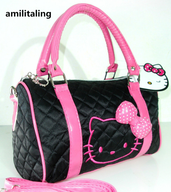 Aliexpress.com   Buy New Hello Kitty Bag with Shoulder Strap Purse ... 3962ba11c7