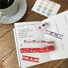 SIXONE 1 Pc Milk Sister Washi Tape Japan Handbook Diy Decorative Tapes Kawaii Cartoon Student Stationery