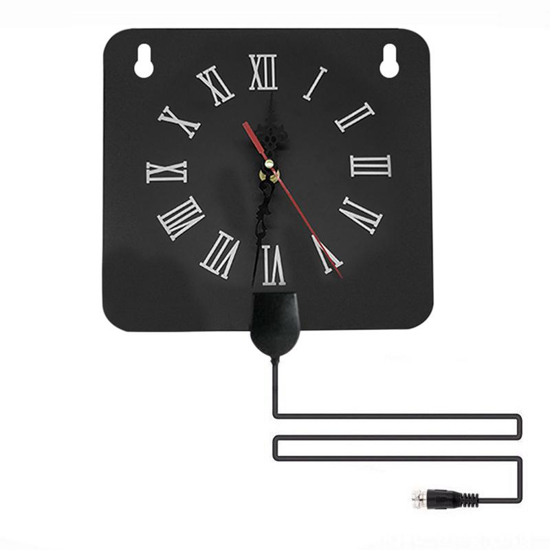 Image 2 - 300 Miles Indoor Digital TV Antenna 1080p HD Signal Receiver Amplifier Alarm Clock Style with Signal Amplifier Booster-in TV Antenna from Consumer Electronics