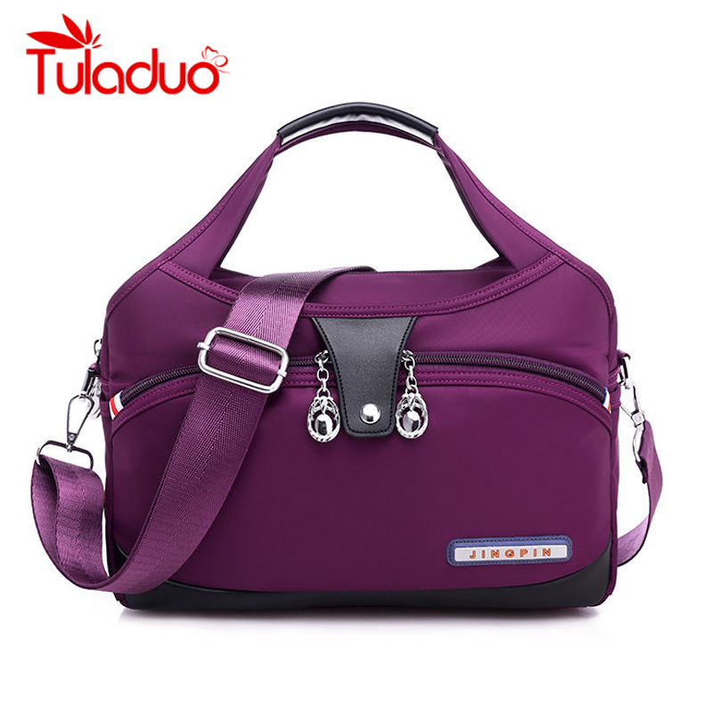 Nylon Large Women Messenger Bags Ladies Handbags Waterproof Female Shoulder Bags Designer High Quality Crossbody Bags For Women