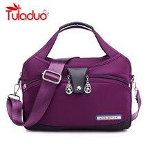Nylon Große Frauen Messenger Taschen Damen Handtaschen Wasserdichte Weibliche Schulter Taschen Designer Hohe Qualität Umhängetaschen Für Frauen
