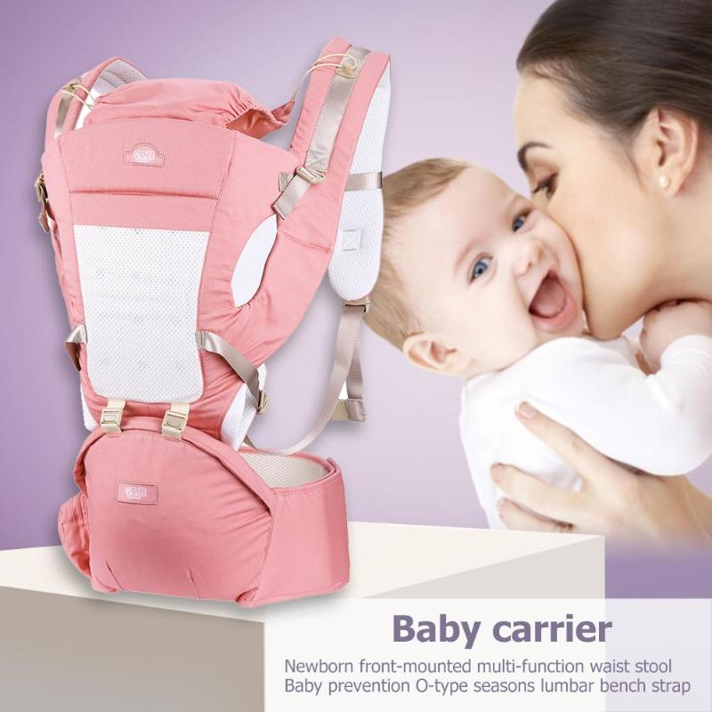 Facing Kangaroos Hipseat Multifunctional Newborn Infant Front Baby Carrier Prevent O-type Legs Ergonomic Sling Backpacks New Hot Activity & Gear