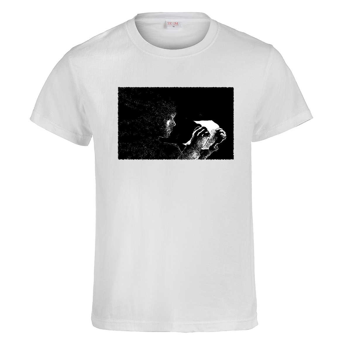 Мужская футболка с принтом в виде головы эфириальной фигуры Повседневная летняя