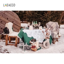 Laeacco Outdoor Wedding Backdrop Food Tent Portrait Photography Background Customized Photographic Backdrops For Photo Studio 100% hand painted pro dyed muslin backdrops for photography studio customized photographic background wedding backdrops 10x10ft