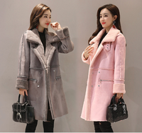 M 2XL 2019 New Women Winter Coat Long Thick Jacket Costume Women Fur Jackets Elegant Ladies Slim Coats High Quality