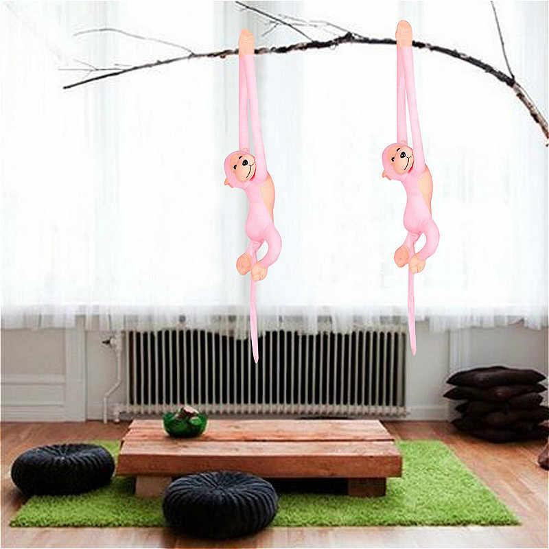 60 см Kawaii длинные руки хвост обезьяны мягкая плюшевая кукла игрушки шторы для спокойного детского сна животного кукла, подарок на день рождение для девочек игрушка