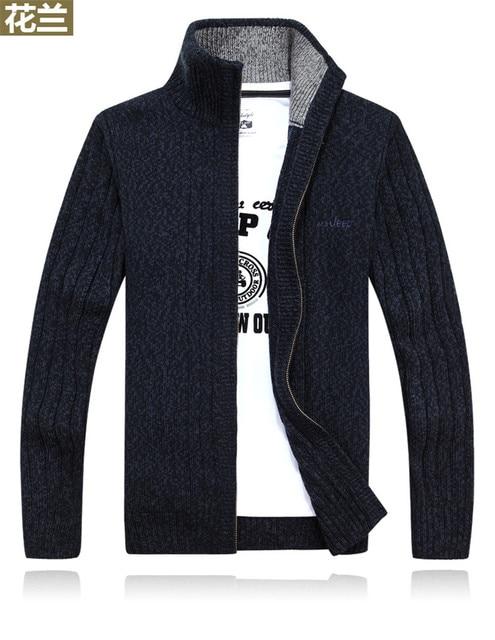 Nuevos suéteres de invierno de talla grande para hombre de