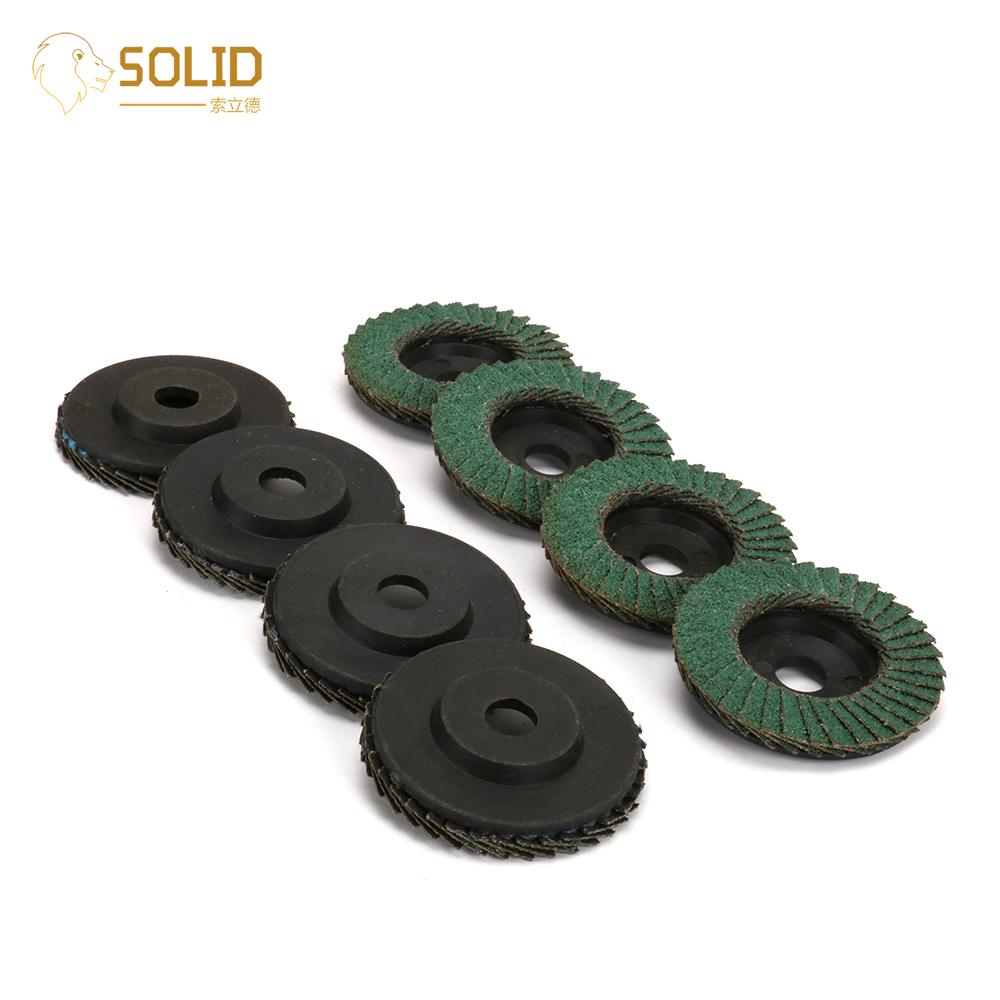2inch Sanding Flap Disc Polishing Wheels 60 Grit For Abrasive Tool Angle Grinder Grinding Metal,Wood And Plastic