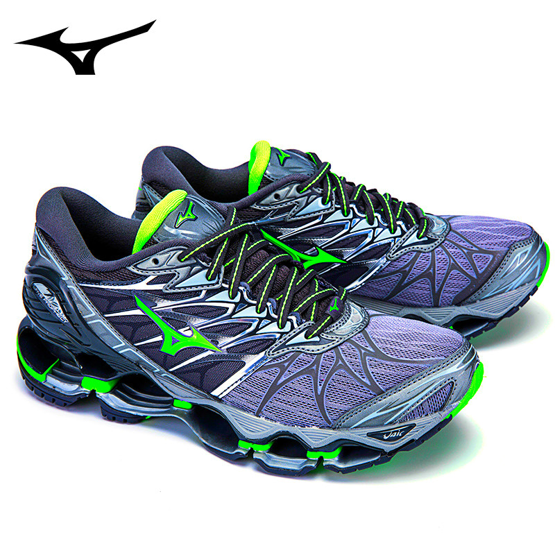 Mizuno Wave Prophecy 7 Professional Sneakers Green Colors Men Shoes Running Shoes Tenis Mizuno for Men WeightLifting Size 40-45